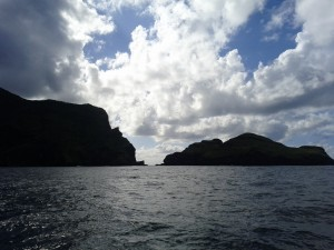 Arriving at Nuku Hiva, The Marquesas