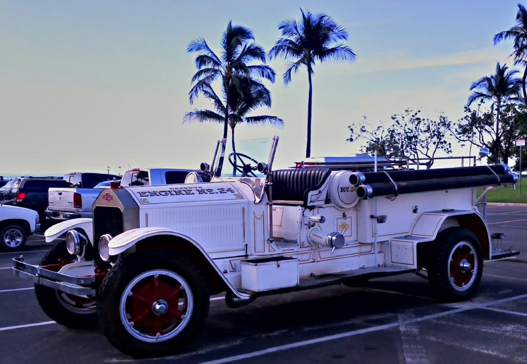 Antique fire engine!