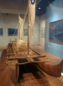 In the 'Voyaging' exhibition