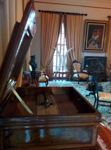 The music room at the palace