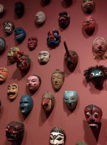 Masks at the Honolulu Museum of Art