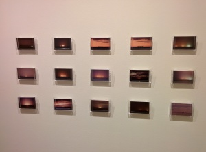 Part of the 'Oil Tanker Sunsents' display by Alison Beste