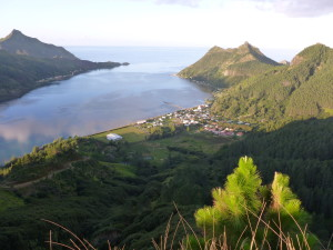 Rapa Iti - it looks so calm! Don't be deceived...