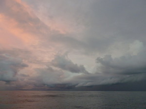 Approaching Storm 3 - ITCZ - 21 Sept 2013
