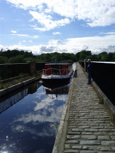 Our canal boat trip on the Union Canal, Scotland (2012)