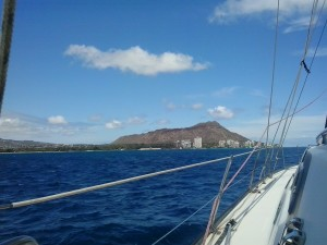 Test sail - Diamond Head